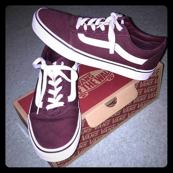 882ec184fb5e VANS Ward Low Canvas Sneakers